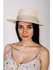 Шляпа федора Доминик Молочный Молочный 56