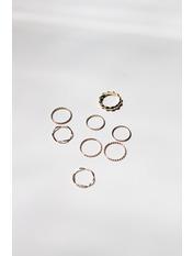 Набор колец NKOL-21002 Золотистый