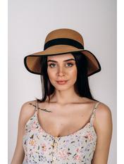 Шляпа слауч Джеми Бежевый Песочный 55