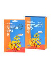 Маски для лица тканевая Dearboo  Everyday Mask Collage&Canola Flower 27 мл
