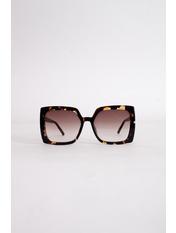 Солнцезащитные очки К1920 Коричневый с принтом Коричневый