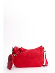Сумка + кошелек Арлен 25*17*7 Красный Красный