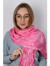 Шарф Косичка однотонный 170*50 Розовый Розовый