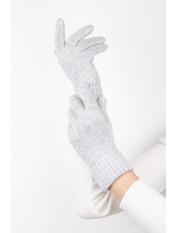 Женские перчатки Герда one size Серый Светло-серый