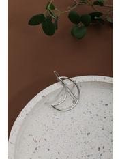 Заколка ZAK-21039 Серебристый Длина 5(см)/ Ширина 2(см)