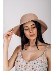 Шляпа слауч Робин Розовый 58 Пудровый