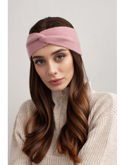 Повязка на голову Амелия one size Розовый Пудровый