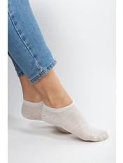 Носочки Жасмин Хлопок 37-40 Серый Светло-серый
