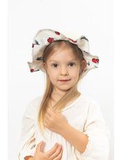 Шляпа детская Манк Молочный 49 Молочный