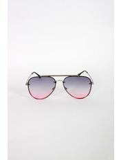 Очки солнцезащитные S31247 Общая ширина 13,5(см)/ Высота линзы 5(см)/ Ширина линзы 5,8(см) Голубой Голубой+розовый