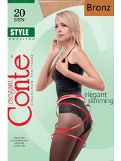 Колготки Conte Style bronz 4