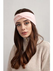 Повязка на голову Амелия one size Розовый Розовый