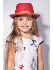 Шляпа детская Муреа Красный Красный 52