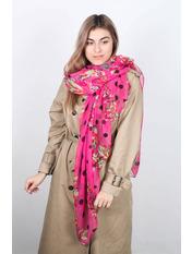 Шарф Фредерика  175*110 Розовый Розовый