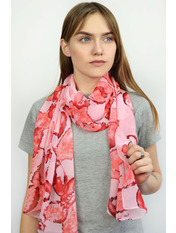 Шарф Тутти 150*50 Розовый Розовый