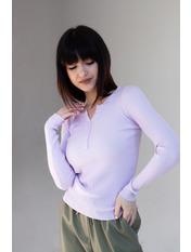 Гольф трикотажный Люси Нежно-лиловый S-M Фиолетовый