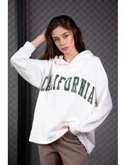 Худи KOF-SH0221 M/L Зеленый Молочно-зеленый California