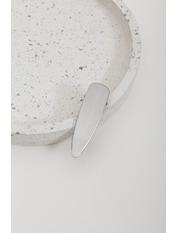 Заколка Лили Серебристый Длина 8(см)/ Ширина 2.2(см) Серебристый
