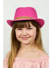 Шляпа детская Муреа Розовый Малиновый 52