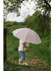 Дитяча парасолька PK-2905 Белый Диаметр купола 116.0(см)/ Длина спицы 48.0(см)/ Длина в сложенном виде 66.0(см)