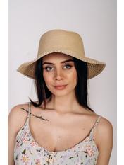Шляпа слауч Робин Бежевый Бежевый 58