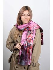 Шарф Линда 170*76 Розовый Темно-розовый