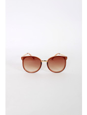 Солнцезащитные детские очки 1805 Общая ширина 12.5(см)/ Высота линзы 4.6(см)/ Ширина линзы 5(см) Коричневый Коричневый