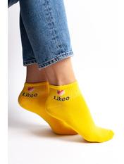 Носочки Линси 36-40 Желтый Желтый