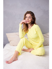 Пижама PGM-7626 Желтый S