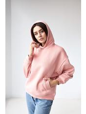 Худи Тиффани Розовый M Пудровый