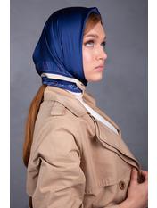 Платок атласный PLA-21022 Синий