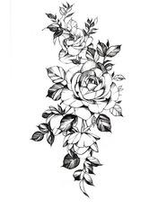 Бодиарт Цветы
