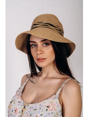 Шляпа слауч Бекка Бежевый Бежевый 56