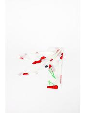 Шарф Гэйлен 88*5 Белый Белый