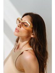 Солнцезащитные очки В2201 Золотистый 15,5*5,2