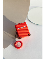 Чохол для навушників Чемоданчик колесами one size one size Красный