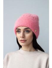 Шапка Либрия Розовый one size Пудровый