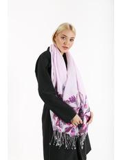 Шарф PTV-2002 170*73 Фиолетовый Темно-лиловый