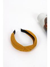 Обруч OBR-21051 Длина 43(см)/ Ширина 4(см) Желтый Темно-желтый
