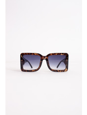 Солнцезащитные очки К122 Коричневый с принтом темный Коричневый