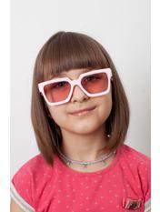 Солнцезащитные детские очки 2032 12,5*4,3 Розовый Розовый