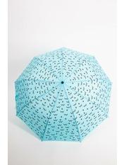 Женский зонт PK-7766 Голубой