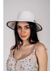Шляпа слауч Шеннон Белый Белый 56