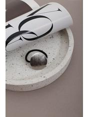 Резинка Лора Серебристый Длина 3.8(см)/ Диаметр 15(см) Серебристый
