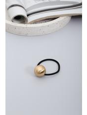 Резинка Линдси Золотистый Длина 6(см)/ Диаметр 15(см) Золотистый