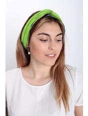 Шарф Косичка радуга 170*50 Зеленый Зеленый