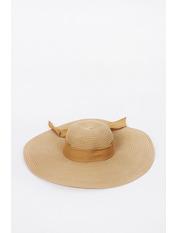 Шляпа широкополая Полин Капучино 57 Капучиновый